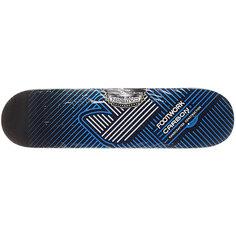 Дека для скейтборда для скейтборда Footwork Carbon Fusion Blue 32.5 x 8.25 (21 см)