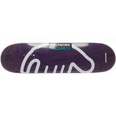 Дека для скейтборда для скейтборда Footwork Progress Footwork X Anteater Violet 32.1 x 8.375 (21.3 см)