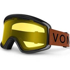 Маска для сноуборда Von Zipper Beefy Burnt Orange/Yellow