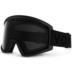 Маска для сноуборда Von Zipper Cleaver Black Satin/Blackout