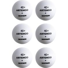 Мячи Для Пинг-понга Ttb 100 X 40+ X6 Шт Artengo