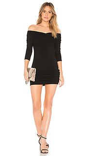 Платье с открытыми плечами luxe - Bobi