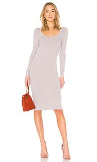 Платье с длинным рукавом - Enza Costa