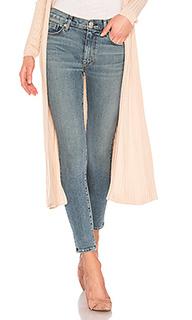 Укороченные джинсы скинни с высоким поясом barbara - Hudson Jeans