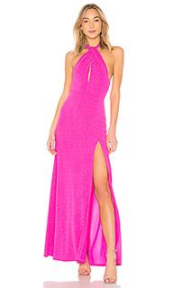 Вечернее платье холтер lenka - NBD