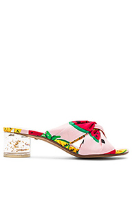 Сандалии на каблуке lemon - RAYE