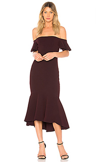 Платье со спущенными плечами devin - RACHEL ZOE