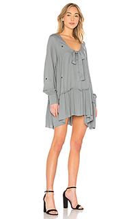 Мини платье с вышитыми звездочками - Wildfox Couture