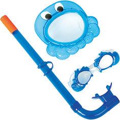 Набор для ныряния детский, морские животные, синий, Bestway