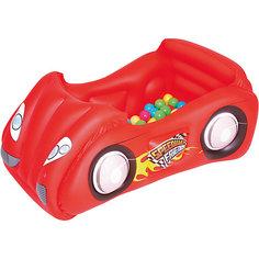 Игровой центр Машина с шариками, Bestway, красный