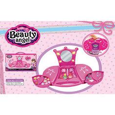 """Большой Игровой косметический набор """"Звездный чемоданчик"""" с подсветкой, Beauty Angel"""
