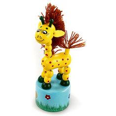 Танцующий жираф с гривой Mapacha