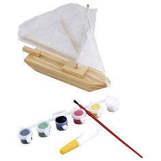 Модель Парусник с красками Mapacha