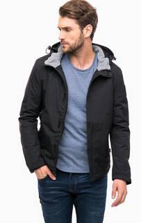 Черная куртка с капюшоном Napapijri