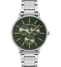 Часы с широким металлическим браслетом Kenneth Cole