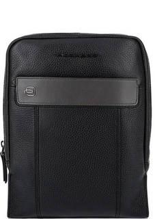 Кожаная сумка через плечо с одним отделом Piquadro