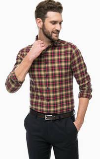 Хлопковая рубашка в клетку Scotch&Soda
