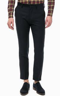 Зауженные шерстяные брюки в классическом стиле Scotch&Soda
