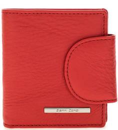 Красный кожаный кошелек Gianni Conti