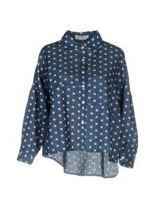 Джинсовая рубашка Minueto