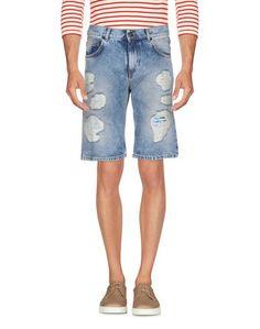 Джинсовые бермуды Versace Jeans