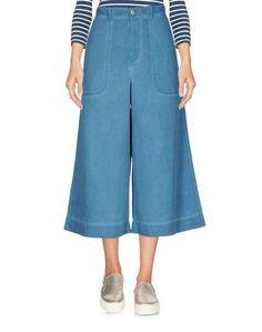 Джинсовые брюки-капри Vivienne Westwood Anglomania