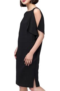 Свободное платье с разрезом VILATTE