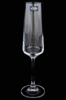 Фужеры для шампанского 6 шт Crystalite Bohemia