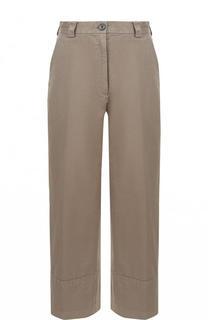 Укороченные хлопковые брюки с карманами Dries Van Noten