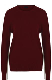 Кашемировый пуловер с круглым вырезом Joseph
