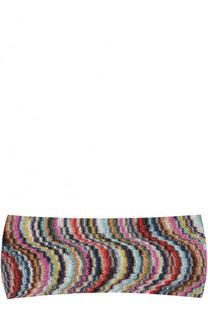 Вязаная повязка из вискозы Missoni