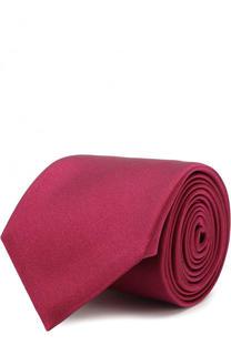 Однотонный шелковый галстук Canali