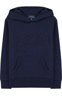 Толстовка с логотипом бренда и капюшоном Polo Ralph Lauren