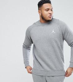 Серый свитшот Nike Jordan PLUS Flight 823068-091 - Серый
