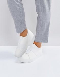 Кроссовки с эластичными вставками Park Lane - Белый