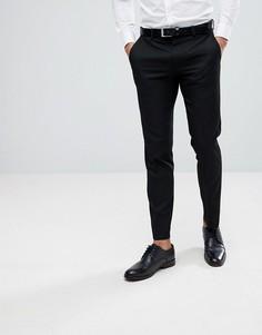 Черные брюки скинни Moss London - Черный