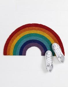 Дверной коврик в виде радуги Sunnylife - Мульти