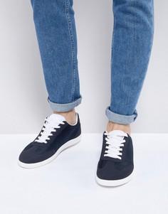Темно-синие кроссовки в стиле ретро с сетчатыми вставками ASOS - Темно-синий
