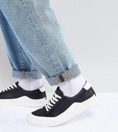 Монохромные кроссовки для широкой стопы ASOS - Черный