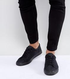 Кроссовки цвета темного денима на шнуровке ASOS - Черный