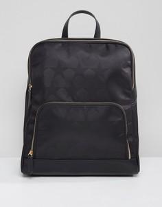 Рюкзак со звездами Qupid - Черный