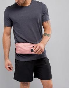 Розовая спортивная сумка на пояс Reebok CV6382 - Розовый