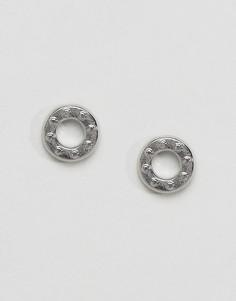 Серьги-кольца DyrbergKern - Серебряный