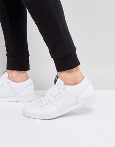 Белые кроссовки Reebok Workout LO Clean ID BS9831 - Белый