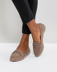 Туфли на плоской подошве ASOS MEADOW - Бежевый