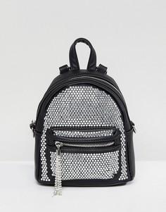 Рюкзак с камнями и кисточками ALDO - Черный