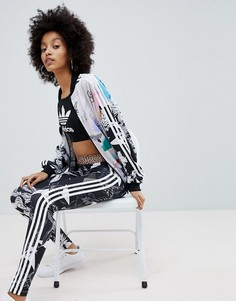 Леггинсы с принтом adidas Originals X Farm - Мульти