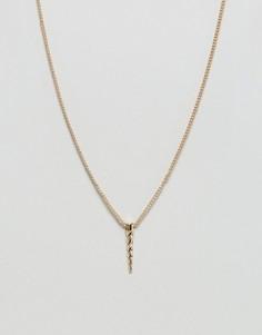 Ожерелье Nylon - Золотой