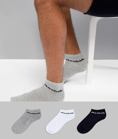 3 пары разноцветных носков Reebok Training AB5275 - Мульти