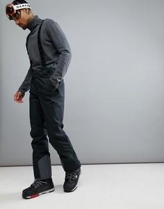 Черные горнолыжные брюки Jack Wolfskin Exolight - Черный